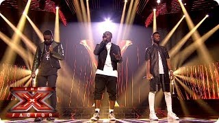 Rough Copy sing End Of The Road by Boys 2 Men Live Week 9 The X Factor 2013