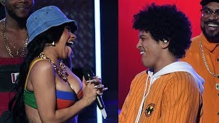 "Download Lagu Cardi B Offers Bruno Mars THIS After He Featured Her On ""Finesse"" Gratis STAFABAND"