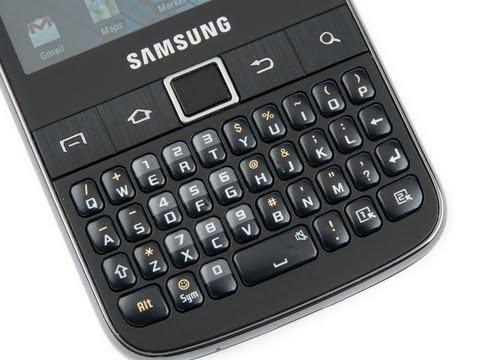 Samsung Galaxy Y Pro Preview