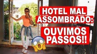 MOMENTOS DE TERROR EXPLORANDO O HOTEL ABANDONADO!   Lorrayne Mavromatis