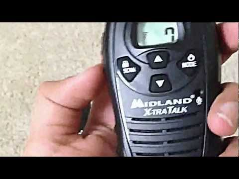 Midland walkie-talkie X-tra talk