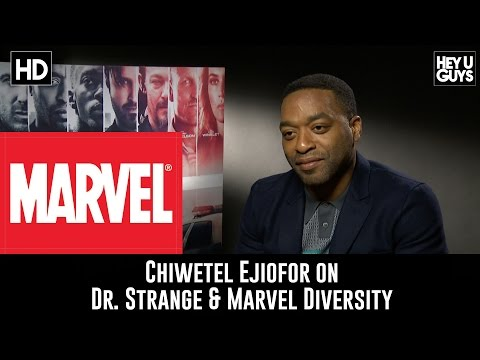 Chiwetel Ejiofor on Marvel's Dr. Strange, Joining Marvel & Diversity