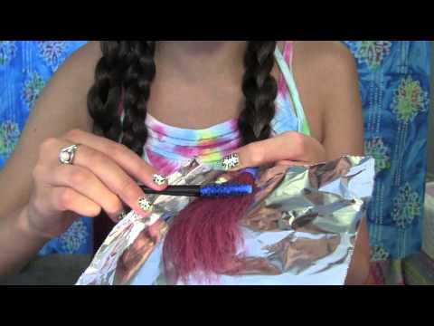 DIY Non-Perminant Ombre Hair! Using Splat Washables Hair Dye - HopeLoveLexi