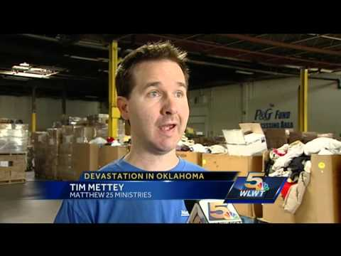 Matthew 25 Ministries readies relief shipments for Oklahoma