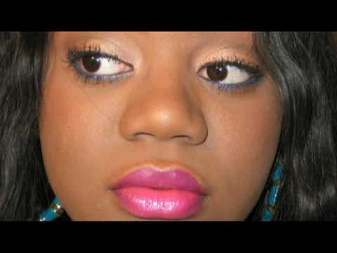 Fashion Fair Lipstick Chocolate Raspberry Ashanti Inspired Look Gold