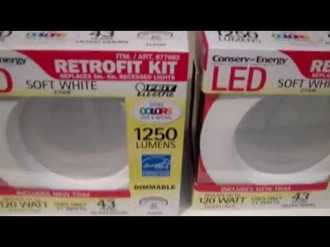 how to install the costco led retrofit light kit diy reviews. Black Bedroom Furniture Sets. Home Design Ideas