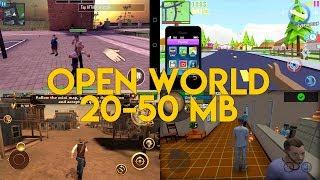 5 GAME ANDROID OPEN WORLD SEPERTI GTA YANG UKURANNYA KECIL DAN RINGAN CUMA 20 - 50 MB !