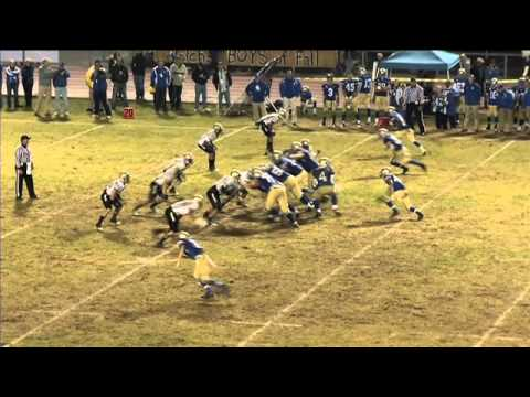 Santa Margarita vs. St John Bosco High School Football Highlights 2011