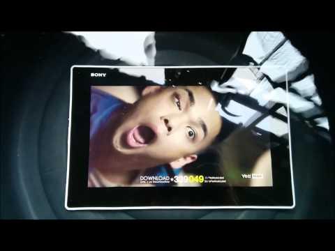Sony Xperia Z2 Tablet   Water Proof รีวิว โซนี่ เอ็กซ์พีเรีย แซ่ดสอง แทบเบล็ต ทดสอบกันน้ำ