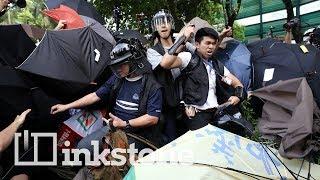 Hong Kong's evolving protests