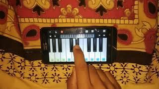 Sambalpuria babu song in mobile piano of mantu churia