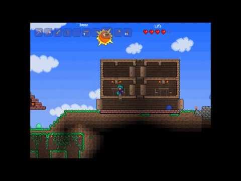 Terraria Odc #004 Domek dla Handlarzy
