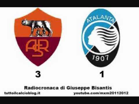 ROMA-ATALANTA 3-1 – Radiocronaca di Giuseppe Bisantis (1/10/2011) da Radiouno RAI