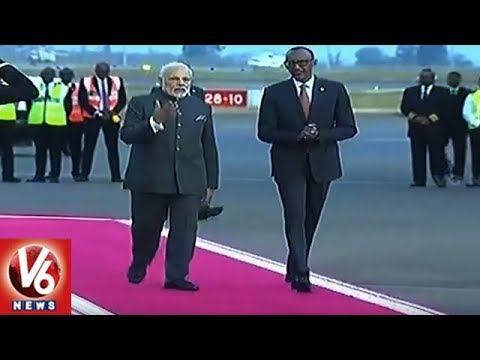 Modi Africa Tour: PM Narendra Modi To Address In Uganda Parliament | V6 News
