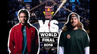Chey (ES) vs. Uzee Rock (UKR) | Top 16 | Red Bull BC One World Final 2018