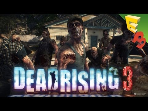 Dead Rising 3 GAMEPLAY WALKTHROUGH! In-Game Footage from the Xbox One Press Conference