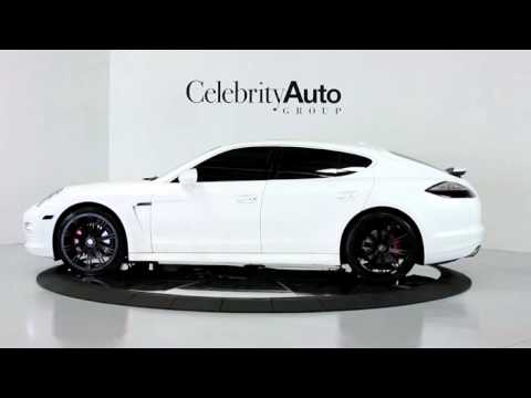 2011 Porsche Panamera 4s Custom Matte White Gloss White