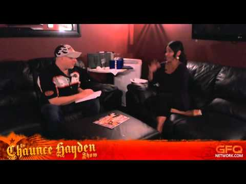 The Chaunce Hayden Show Ep. 31 - Joumana Kidd Interview 8-29-12