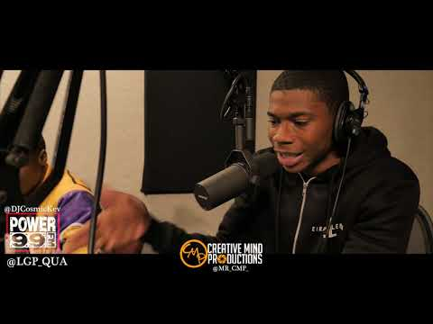 @lgp_qua Freestyle on Cosmic Kev's Come Up Show