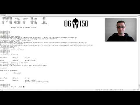 Reaver Demonstration - Brute Force WPS Attack!