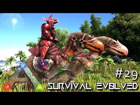 ARK: Survival Evolved - TERROR BIRD TAMING & QUETZ GRAPPLING HOOK !!! - SEASON 3 [S3 E29] (Gameplay)