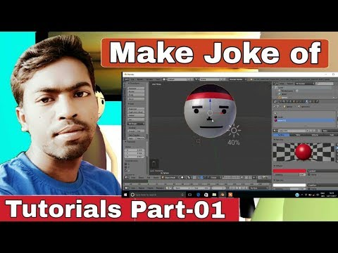 """How to make"""" face"""" of make joke of character  Tutorial Part -01"""
