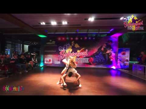 Saif & Mayra Dance Performance - 2.Salsensual Dance Festival Lebanon