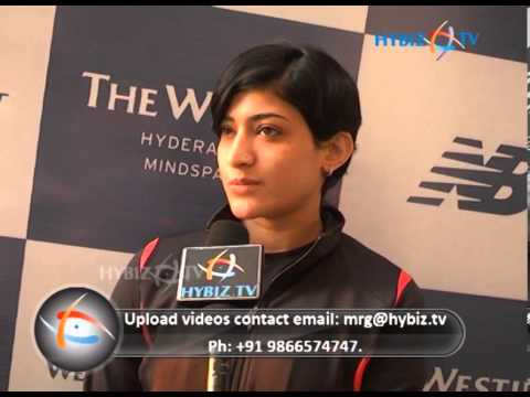 Ashwini Ponnappa, Badminton Player.