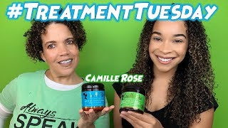 #TreatmentTuesday | Camille Rose Around The World Collection | Moisture + Protein