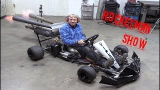 Rocketman: HOW to make a SUPER JET GOKART ! part #1