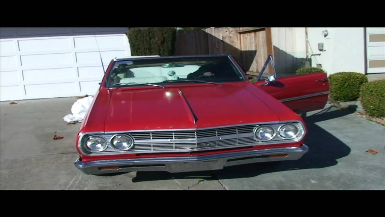 1965 convertible chevy malibu old school hott rod chevelle drop youtube. Black Bedroom Furniture Sets. Home Design Ideas