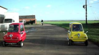PEEL P50's DRAG RACING