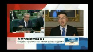 Evan Solomon interviews Pierre Poilievre re #FairElectionsAct #cdnpoli #pnpcbc