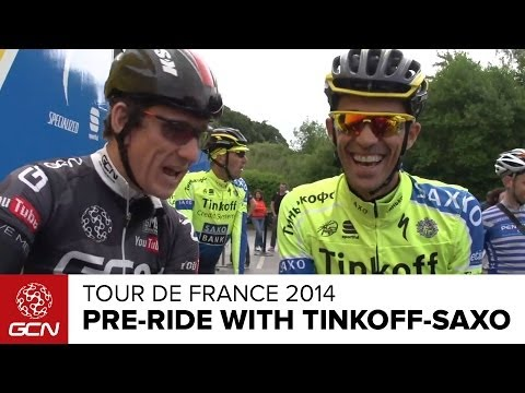 Pre Tour De France Ride With Tinkoff-Saxo - How Is Contador Feeling? & Oleg's Tour Predictions
