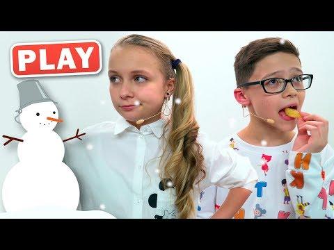КУКУТИКИ PLAY - Новогодняя Песенка - Алиса и Артем - Поем праздничную песенку про Елочку