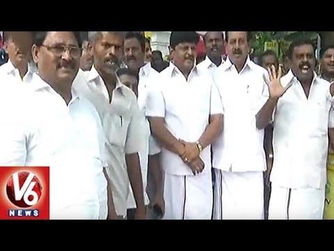 Vice President Venkaiah Naidu Visits DMK Chief karunanidhi | Chennai | V6 News