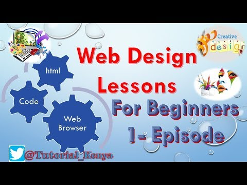 web design lessons for beginner-episode 1 |html latest tutorials| Free Tutorials Download
