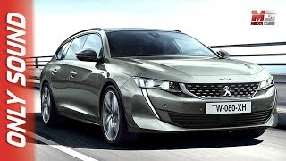 NEW PEUGEOT 508 SW 2018 - FIRST PREVIEW ONLY SOUND