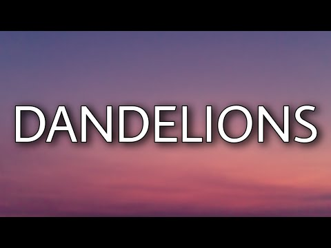 Download Lagu Ruth B. - Dandelions (Lyrics)