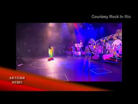 ROCK IN RIO, DAY 1 MONTAGE: KATY PERRY, ELTON JOHN, CLAUDIA LEITTE