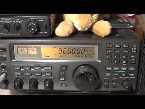 Vatican Radio 9660 Khz Shortwave at 0300 UT