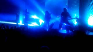 "Meshuggah ""In Death Is Life:In Death Is Death"" Live 2:15:2013 NYC"