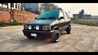 Maruti 800 Modified    Total Cost For Modification    Music System Full Info    Rims Details   