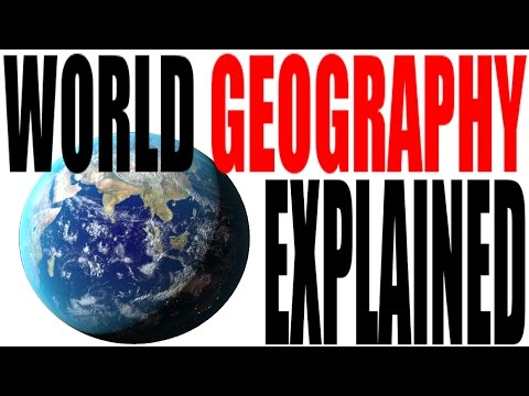 Geography's Influence on World History, Society and Human Development