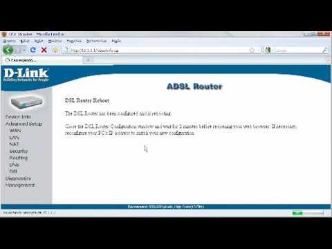 Como rotear modem DLink DSL 500B