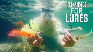 DIVING Ultra Clear Jetty for EXPENSIVE Fishing Lures! *SKETCHY*