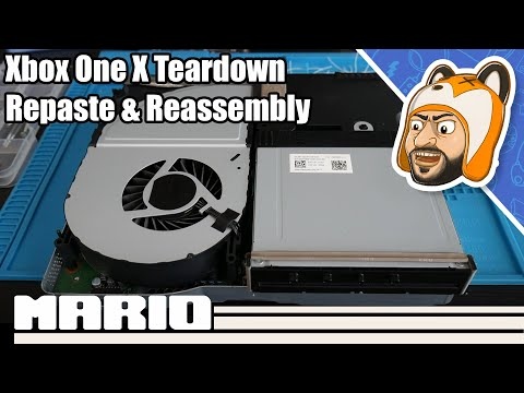Xbox One X - Teardown, Repaste, & Reassembly Guide