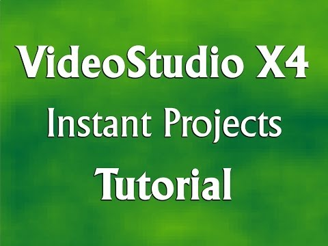 Corel VideoStudio Pro X4 - Instant Project - Basics Tutorial
