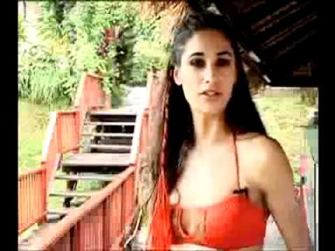 Nargis Fakhri in Making of Kingfisher Swimsuit Calendar 2009