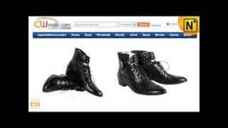 Mens Italian Leather Dress Shoes CW760102 www.cwmalls.com